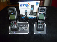 BT 6500 Cordless phone, answer machine with call blocker