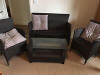 Next 4 piece garden/conservatory furniture