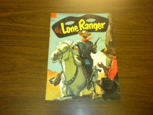THE LONE RANGER #72 Dell Comics 1954 WESTERN