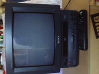 VCR VHS RECORDER/TELE COMBI