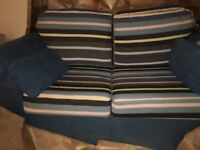 2 seater sofa £25 ( extra Covers)