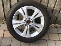 Mercedes Benz Alloy wheel & Tyre