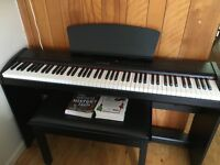 CHASE DIGITAL ELECTRIC PIANO WITH WEIGHTED HAMMER ACTION 3 PEDALS & USB