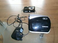 JOBLOT samung Camcorder and fujitsu digital camera SPARES / REPAIRS