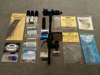 Selection of fly tying equipment