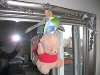 New Winnie the Pooh Cot Musical Toy with tags