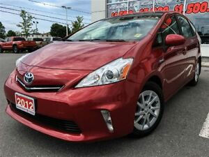 2012 Toyota Prius v LEATHER+SUNROOF+MORE!!!