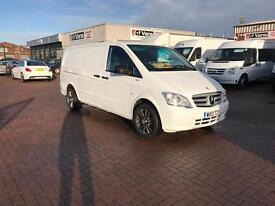 Own this van for £45 p/w 🚚👍🏻. March 2013 Mercedes Vito 113cdi lwb blueefficiency j&ft&v mallusk