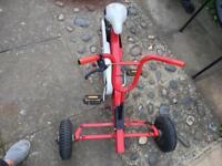Children pedal go kart