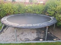 Large Trampoline PLUM 12ft