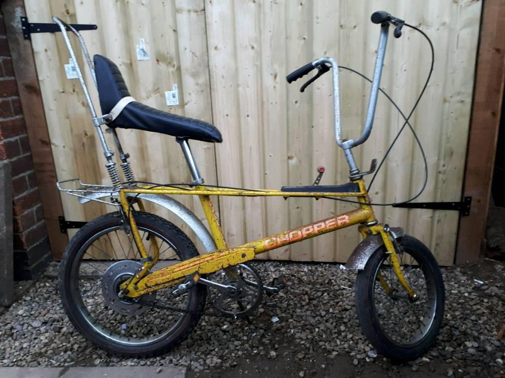 Raleigh chopper frame dating