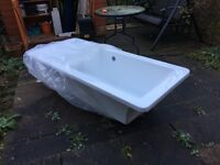 Athena 1700 x 750 Free Standing Bath Tub from Better Bathrooms