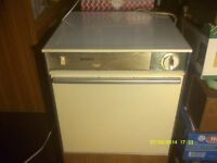 """A TUMBLE DRYER VERY SMOOTH , QUIET OPERATION , OLDER MODEL """" BUT """" PERFECT ORDER +"""