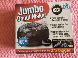 Jumbo Donut Maker (new, unused)