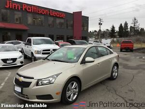 2014 Chevrolet Cruze Diesel, w/leather, roof + more!