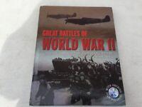 Great battles of World War II Book & DVD