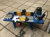 Workzone Router, Table & Bits
