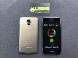 samsung s5 gold simfree fully refurbished as new bargain