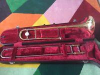 Yamaha brass trombone - Used, 1 owner