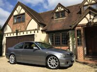 BMW 330 CI M SPORT COUPE 6 SPEED MANUAL, 1 OWNER, FULL HISTORY, YEARS MOT