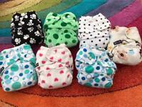 Pocket reusable nappies
