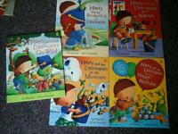 Harry and the dinosaurs books, bundle of 5