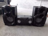 panasonic 600w stereo system