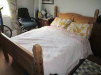 Double Bed (Solid Oak)