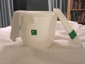 Tots Bots Nappy Bucket with mesh liner
