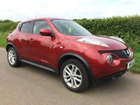 2011 Nissan Juke 1.6cc Acenta Premium 5 Door Hatchback - Demo & 1 Lady owner from new - Immaculate