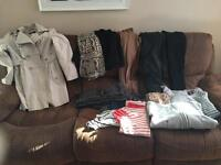 Ladies 8-10 clothes bundle
