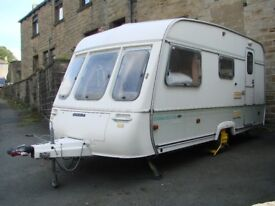 Swift Corvette 1992 4 birth caravan with many extras, ideal starter van