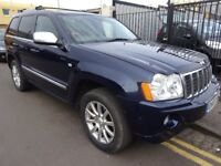 JEEP GRAND CHEROKEE 3.0 CRD V6 Overland 4x4 5dr Auto (blue) 2007