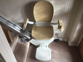 Acorn Straight stairlift for sale.