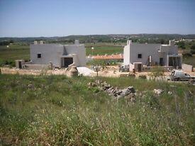 Plot of land with planning permission for sale near Alvor, Algarve, Portugal