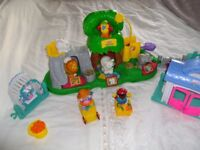Fisher price zoo with sounds animals and people