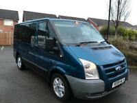 2009 FORD TRANSIT TREND 9 SEATER CONVERSION SEVICE HISTORY LONG MOT £1995