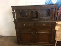 Solid oak carved chest for sale stunning vintage piece, condition great.