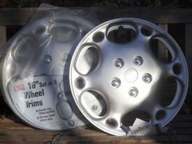 "Four new unused 16"" wheel trims free to collector"