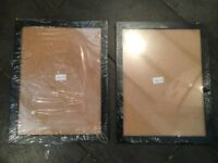 Pair Of Large Picture Frames - BRAND NEW - Black Photo Frame
