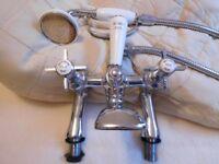 Bensham 1885 cross head bath shower mixer tap
