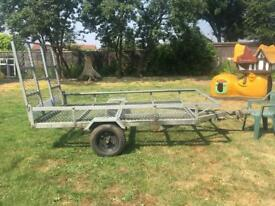 Quad or lawnmower trailer