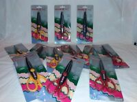 Set of 15 edging scissors - great for crafts and card making - see description for list of patterns