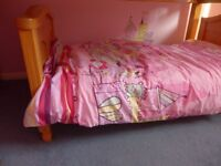 Fairy/ Princess bedding set x 2/ Mattress protectors/ flat sheets/ duvet
