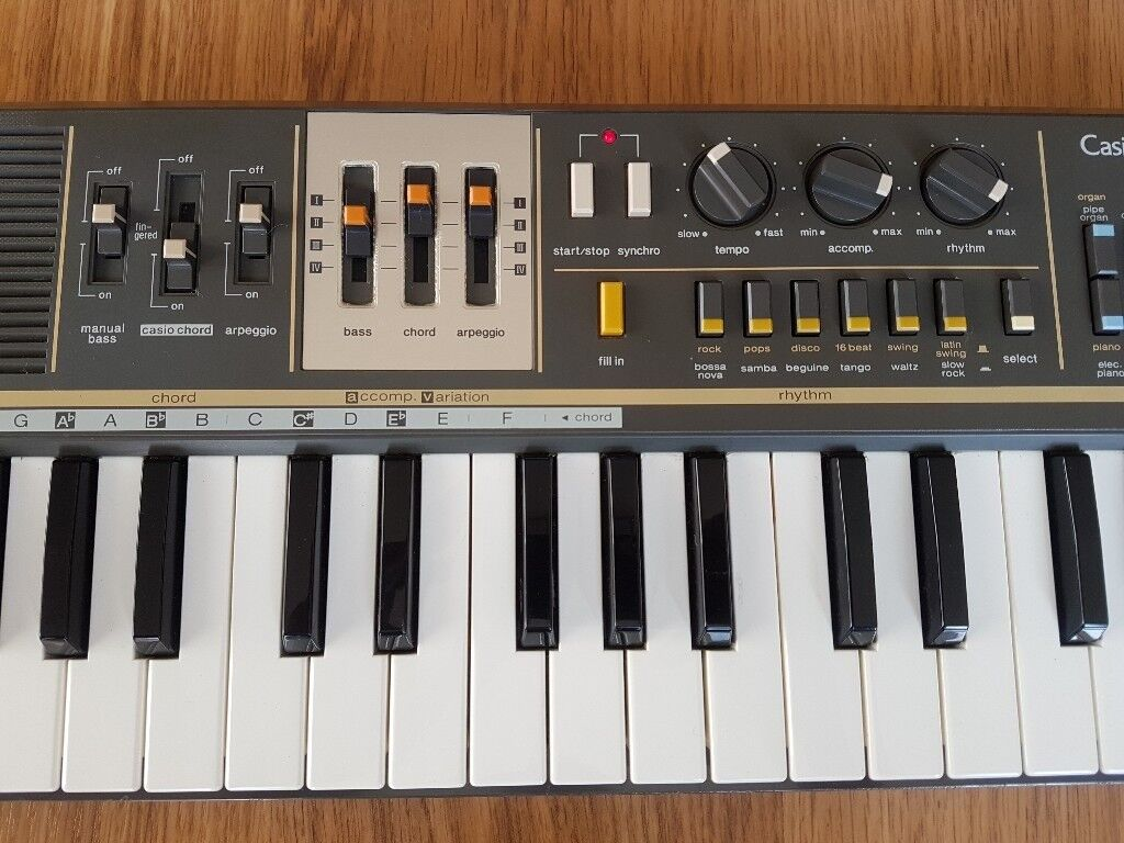 Casio MT-68 Casiotone Vintage Classic Synth Keyboard