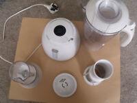Philips HR1757 Cucina JUG SMOOTHIE, JUICER, BLENDER and GRINDER 500w (White) used/ working