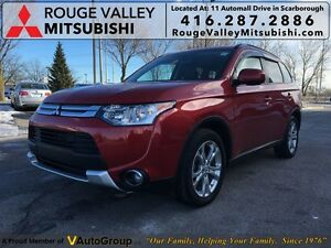 2015 Mitsubishi Outlander ES AWD PREMIUM!!!$62+tax weekly with 0
