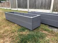 Homemade Deck Planters