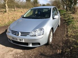 VW Golf Hatchback, 1.9TDI, Silver, 5Dr, 79k miles, EW, CD, Alloy, Air Con, Cruise, Excellent drive.