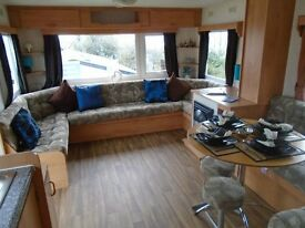 cheap static caravan immaculate condition site fees paid stunning park open all year Devon
